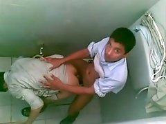 Arab hijab Lads Public Toilet