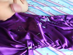 Sam's prom dress assaulted with massive, dirty CUM soak