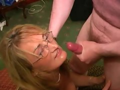 English Hussy Slutty mom Loves Cum Facials (Crystal 2)