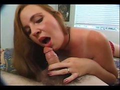 Sexual Mommy loves fellatio dick.