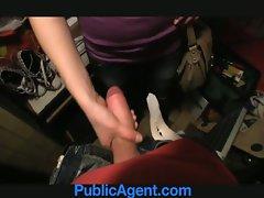 Publicagent Iveta screws me to get a artificial job