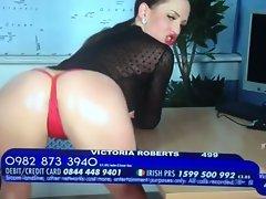 English slutty girl Victoria Roberts looking attractive