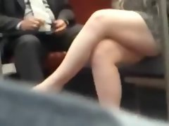 Candid Luscious Crossed Legs 14