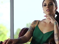 Nice looking ladies seducing and tease and get intimate