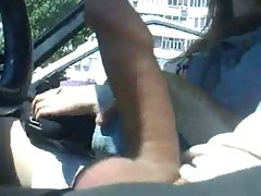 Sensual russian Female touch for a ride