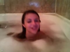 intimate bath with barely legal teen