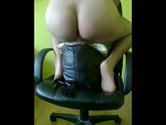 Sister's leather bags and pillow get banged