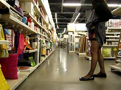 crossdresser in store