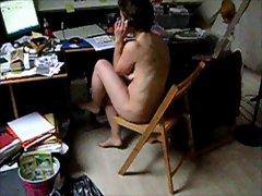 slutty wife naked Milf's butt Hidden cam Homemade