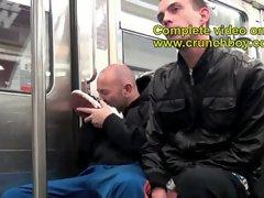 Sex exhin in metro subway in paris