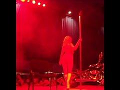 Natasha -romanian erotic dancer at Eros Show Bucharest 2013