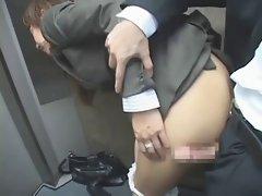asian office lady fuck (censored) p1