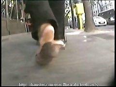 Candid arabic feet 09