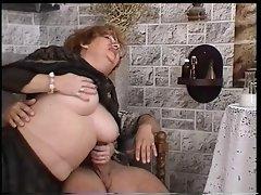Granny uses ebony magic to get laid