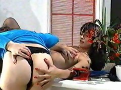 Pregnant Mamma Milking With Doctor - Anna&Vielta